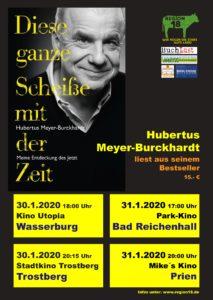 Plakat Hubertus Meyer-Burckhardt