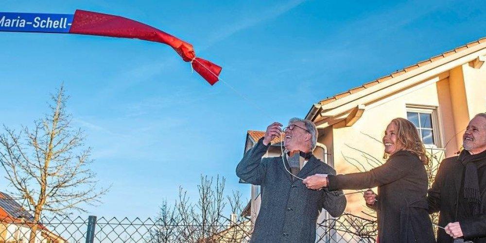 Passauer Neue Presse – Erste Maria-Schell-Straße Deutschlands