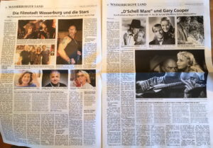 Read more about the article Wasserburger Zeitung – Hollywood am Inn