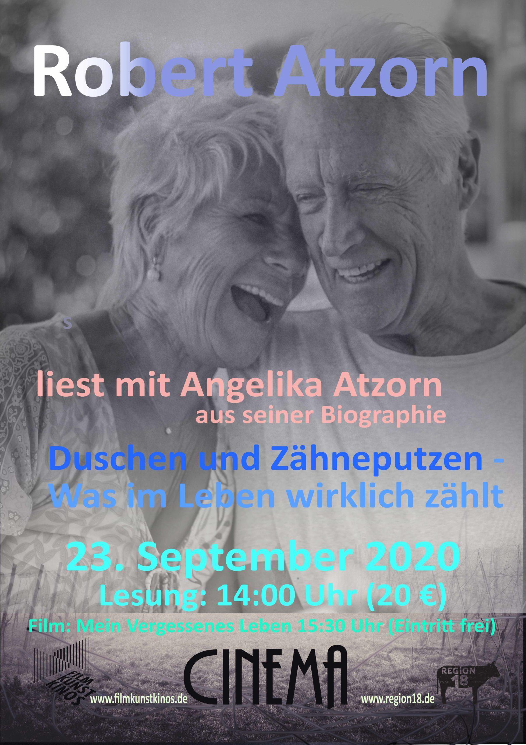 Read more about the article Robert Atzorn liest am 23.9.2020 in Düsseldorf
