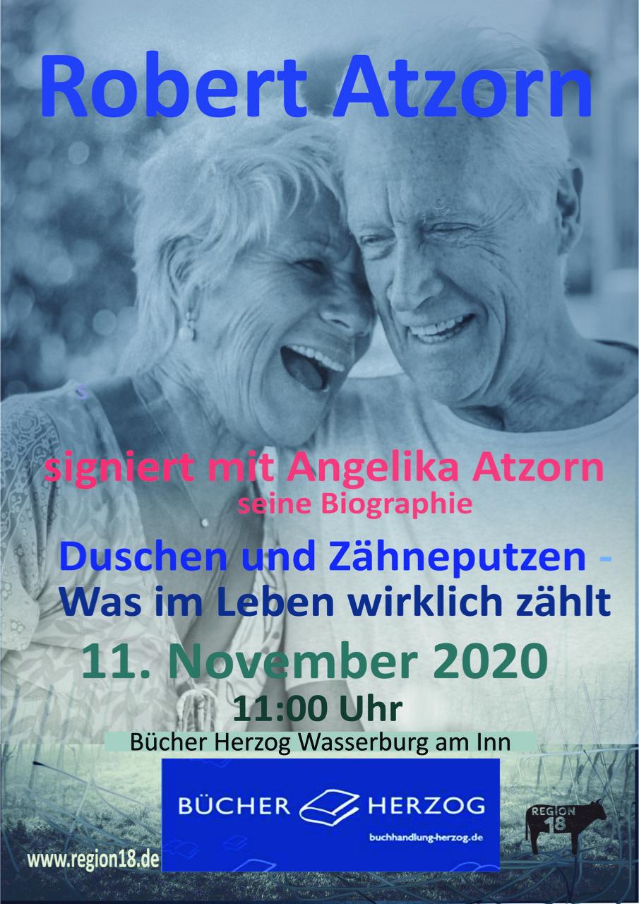 Read more about the article Wasserburger Stimme – Robert Atzorn in Wasserburg