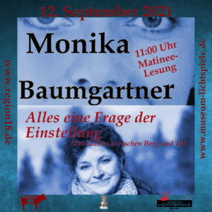 Read more about the article Lesung Monika Baumgartner 12.09.2021