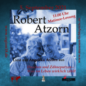 Read more about the article Lesung Robert Atzorn 05.09.2021