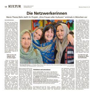 Read more about the article Münchner Merkur – Die Netzwerkerinnen